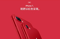 iPhone 7 màu đỏ mất ý nghĩa đặc biệt ở Trung Quốc
