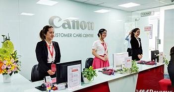 Canon cam kết trả bảo hành máy ảnh trong 3 ngày, có hỗ trợ hàng xách tay