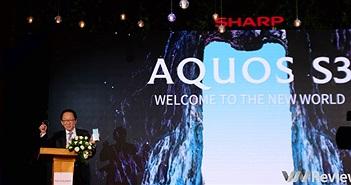 Sharp Aquos S3 chính thức ra mắt tại Việt Nam: Thiết kế tai thỏ, giá 9 triệu đồng
