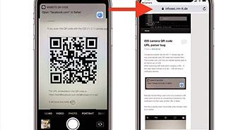 Tính năng đọc mã QR Code trên camera của iOS 11 có nguy cơ bị tấn công