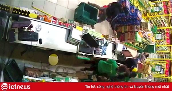 Siêu thị Bách hoá Xanh ở Sài Gòn bị cướp