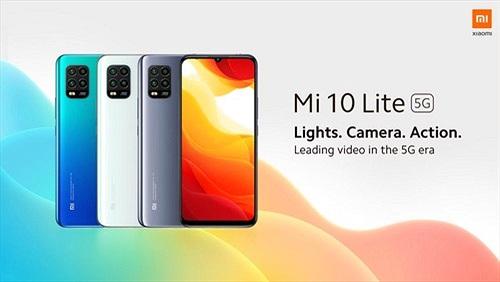 Xiaomi ra mắt Mi 10 Lite 5G: Snapdragon 765G, camera 48MP, giá từ 383 USD