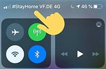 Các nhà mạng nhắc người dùng hãy ở trong nhà giữa mùa dịch thông qua... vạch sóng điện thoại