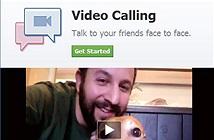 Facebook cho phép cuộc gọi video miễn phí