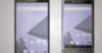 Đây là ảnh render của BlackBerry Hamburg và Room: một cảm ứng hoàn toàn, một có phím qwerty vật lý?
