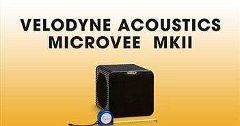 Velodyne tung bản nâng cấp MK II cho subwoofer mini nổi tiếng MicroVee