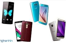 So sánh Bkav Bphone với LG G4, Samsung Galaxy S6 và HTC One M9