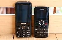 Philips giới thiệu 2 mẫu điện thoại phổ thông mới