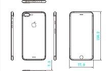 Lộ bản thiết kế iPhone 7 Plus dày hơn, màn hình không viền