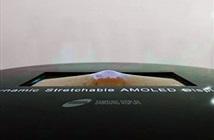 Samsung sắp trình làng màn hình OLED có khả năng co giãn