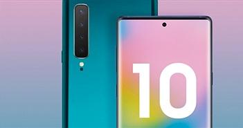 Galaxy Note 10 sẽ có ngoại hình gây tranh cãi