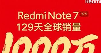 Redmi Note 7 đạt cột mốc 10 triệu máy bán ra trên toàn cầu