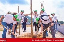 Panasonic Việt Nam trồng cây xanh, đổi pin cũ để phát động người Việt sống xanh
