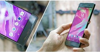 Đánh giá nhanh Xperia XA: 6,9 triệu, máy đẹp, hoàn thiện cao cấp, không bezel, Android 6, Helio P10