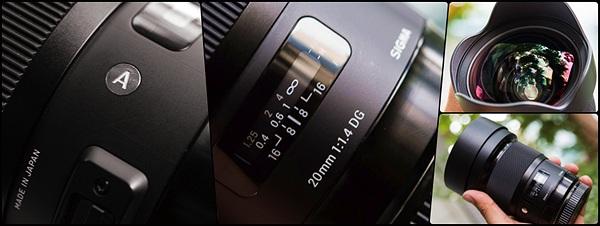 Trên tay Sigma Art 20mm f/1.4 DG HSM: Ống Ultra Wide cho Fullframe có khẩu độ mở lớn nhất hiện nay