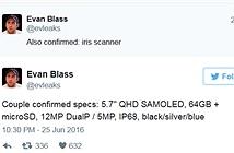 [Galaxy Note 7] Xác nhận tên gọi Galaxy Note 7, cấu hình nổi bật