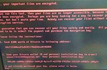 Thông tin về mã độc ransomware đang tấn công vào các tổ chức ở Châu Âu