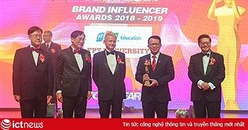 ĐH FPT nhận giải thương hiệu trường đại học có tầm ảnh hưởng khu vực châu Á-Thái Bình Dương