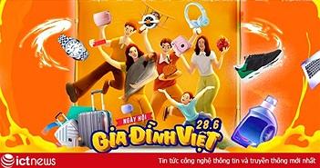 Ngày Gia đình Việt Nam: Mua sắm trên trang Online Friday được giảm giá tới 70% cho hơn 1.500 mặt hàng