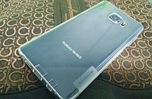 Galaxy Note 5 lộ diện với mặt lưng cong