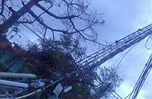 Bão số 1 gây thiệt hại cho các nhà mạng ở Nam Định, Ninh Bình và Thái Bình