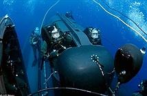 Tàu ngầm tên lửa chuyên chở người nhái của Mỹ
