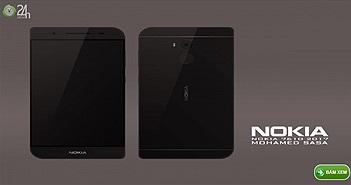 """Ngắm Nokia 7610 concept hình chiếc lá """"cực độc"""""""