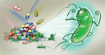 Vi khuẩn kháng thuốc có thể lan tỏa theo đường không khí, và đây là tin không tốt chút nào