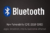 Lỗ hổng Bluetooth mới có thể khiến hàng triệu thiết bị bị tấn công
