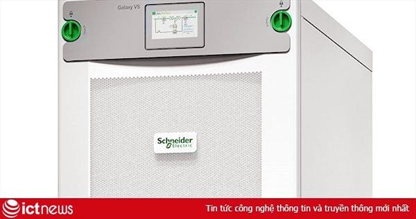 Schneider Electric ra mắt bộ lưu điện Galaxy UPS dành cho khách hàng