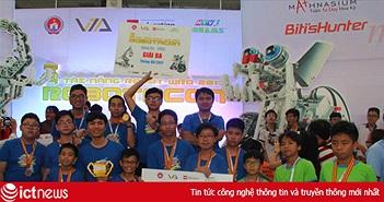Trường Wellspring Hà Nội giành giải thưởng cao ở cuộc thi Robotacon toàn quốc