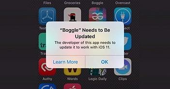 Lập trình viên khốn đốn vì iOS 11 không hỗ trợ ứng dụng 32 bit
