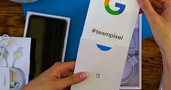 NÓNG: Video đập hộp Pixel 3 XL, màn hình tai thỏ như iPhone X