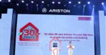 Thương hiệu Ariston kỷ niệm 30 năm hiện diện tại Việt Nam