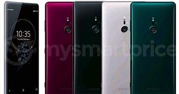 Bốn tùy chọn màu sắc của Sony Xperia XZ3 rò rỉ trước ngày ra mắt