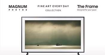 """Samsung hợp tác với Magnum Photos giới thiệu bộ sưu tập """"Fine Art, Everyday"""" trên TV Khung Tranh The Frame"""