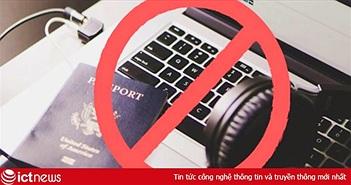 Thêm nhiều hãng hàng không quốc tế cấm MacBook Pro 15 inch lên máy bay