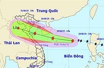 Bão Podul đe dọa các tỉnh miền Trung