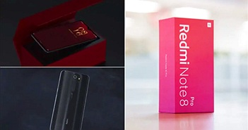 Redmi Note 8 thể hiện độ bền cùng lực sĩ đẩy tạ
