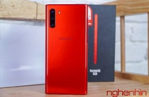 Trên tay Samsung Galaxy Note 10 5G Aura Red phiên bản giới hạn