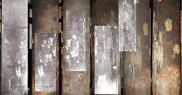 Bất ngờ phát hiện tranh vẽ Phật ẩn giấu trong ngôi đền cổ 1.300 năm tuổi