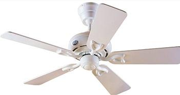 Tại sao quạt trần nhà bạn chỉ có 3 cánh mà quạt trần ở Mỹ hoặc châu Âu lại có tới 4,5 cánh?