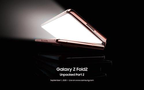 Samsung tổ chức sự kiện Unpacked đặc biệt cho Galaxy Z Fold2 5G