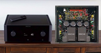 """Xem """"ruột gan"""" hai ampli tích hợp mạnh nhất của Rotel, Michi X3 và X5"""