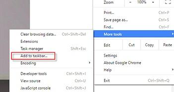 """Cách khắc phục lỗi """"Add to Taskbar"""" của Chrome trong Windows 10"""