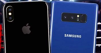 Xem video so sánh chống rung trên iPhone 8 Plus và Galaxy Note 8