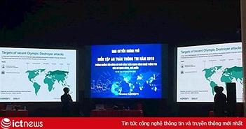 Diễn tập phòng chống tấn công APT trên mạng thông tin các cơ quan Đảng, Nhà nước