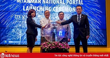 FPT IS mở cánh cửa kết nối thông tin giữa người dân và Chính phủ Myanmar