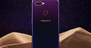 Oppo F9 phiên bản Tím Tinh Tú chính thức ra mắt tại Việt Nam