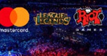 Mastercard tài trợ cho giải thể thao điện tử lớn nhất thế giới League of Legends